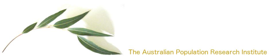 The Australian Population Research Institute
